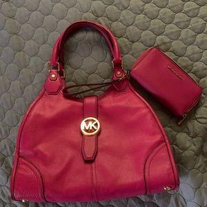 Michael Kors Handbag/ Wallet Combo